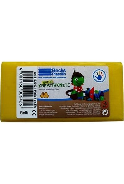 Becks Creative Oyun Hamuru 85gr Sarı Non Toxic