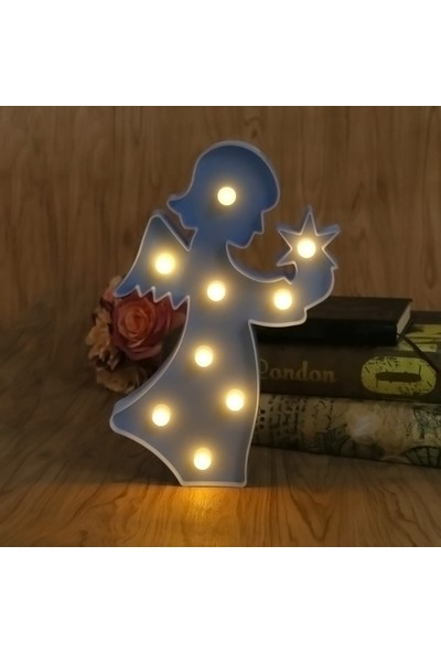 My Style Melek Dekoratif Led Işık-Gece Lambası-Aydınlatma
