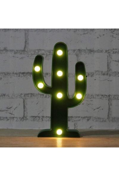 My Style Kaktüs Dekoratif Led Işık-Gece Lambası-Aydınlatma