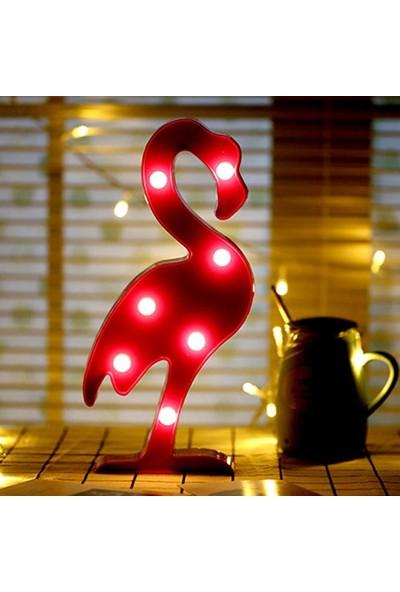 My Style Flamingo Dekoratif Led Işık-Gece Lambası-Aydınlatma