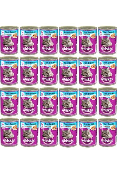 Whiskas Ton Balıklı Konserve Kedi Maması 400 Gr x 24 Adet