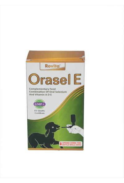 Royal Canin Rovita Orasel E 100 Ml Vitamin Kuzular İçin