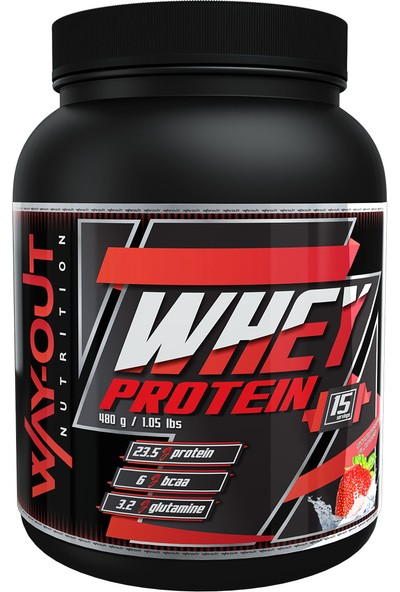 Way-Out Nutrition Whey Protein 480 Gr Çilek