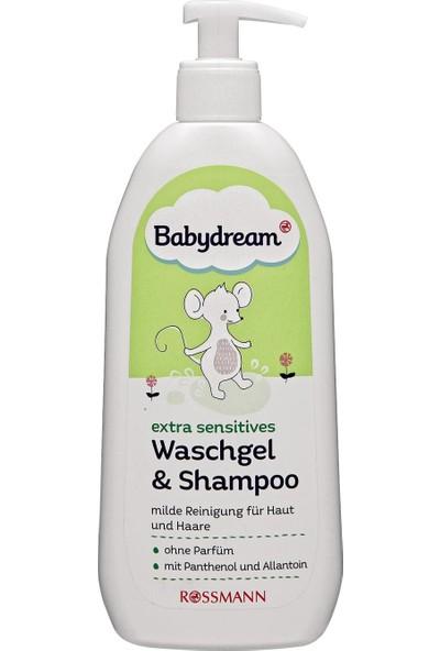 Babydream Hassas Bebekler İçin Duş Jeli Ve Şampuan 500 ml