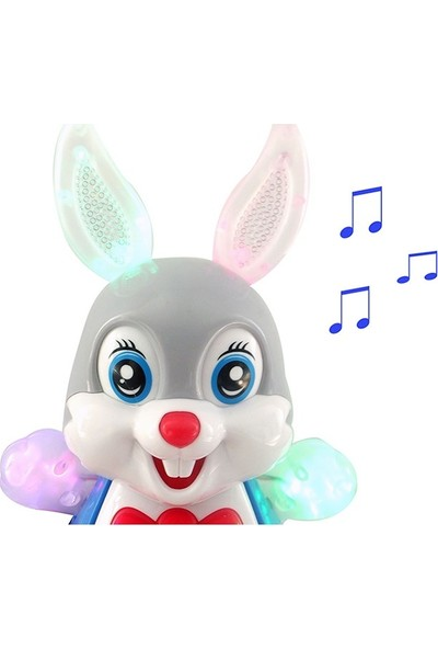 Metaş Oyuncak Dans Eden Sevimli Tavşan Işıklı Ve Müzikli