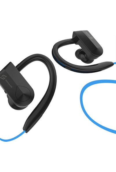 Schulzz K98 Sport Handsfree Kablosuz Bluetooth Mikrofon Kulaklık Mavi