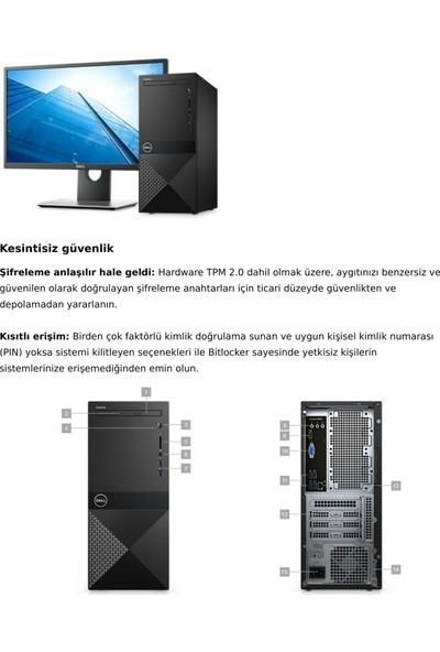 Dell Vostro 3670 Intel Core i5 8400 4GB 1TB Ubuntu Masaüstü Bilgisayar N109VD3670BTO_UBU