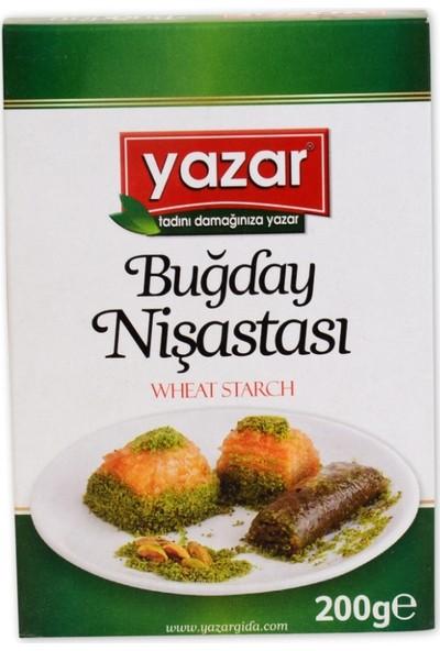 Yazar Buğday Nişasta 200gr 12' li