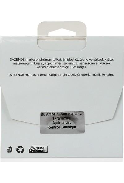 Sazende 0.25 mm Çelik + İpek Bamlı Divan Bağlama Teli