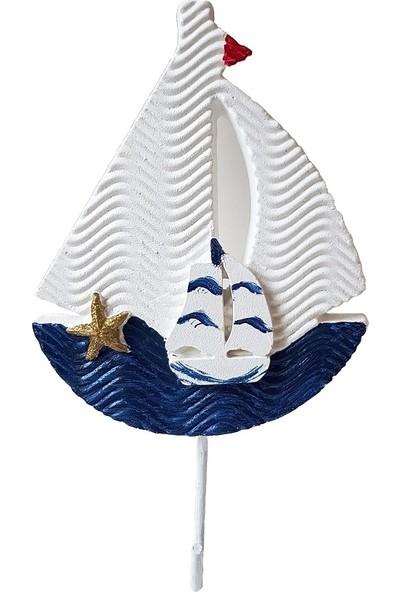Merland Gemi Fiğürlü Askılık