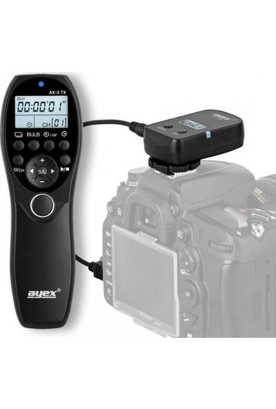 Ayex Canon İçin Ax-5 N3 Kablosuz Zaman Ayarlı Kumanda