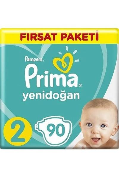 Prima Aktif Bebek Bebek Bezi Fırsat Paketi 2 beden 180 adet