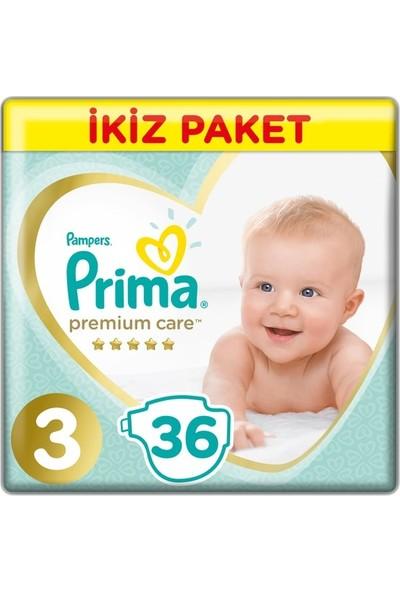 Prima Premium Care Bebek Bezi 3 Beden 72 Adet
