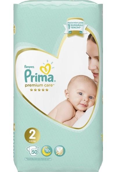 Prima Premium Care 2 Beden Bebek Bezi 100 Adet