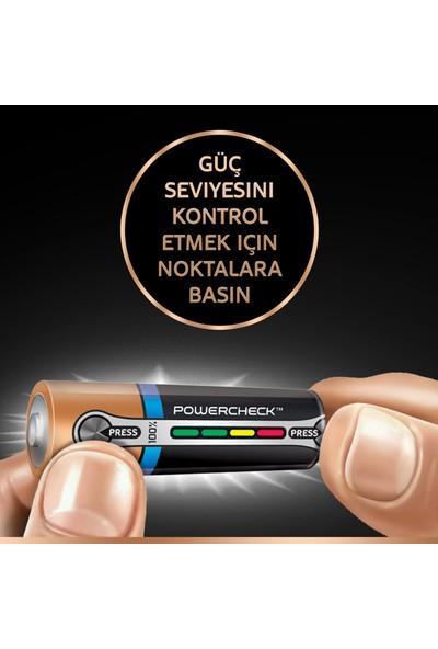 Duracell Turbo Max Alkalin AA Kalın Kalem Pil (8+4) 12'li Paket