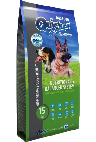 Quicker Premium High Enerji Çalışan Köpek Maması 3 Kg