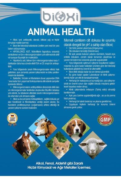 Bioxi Animal Health 150 Ml. (Hayvan Yara Bakım Ve Temizleme Solusyonu)