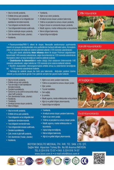 Bioxi Animal Health 250 Ml. (Hayvan Yara Bakım Ve Temizleme Solusyonu)
