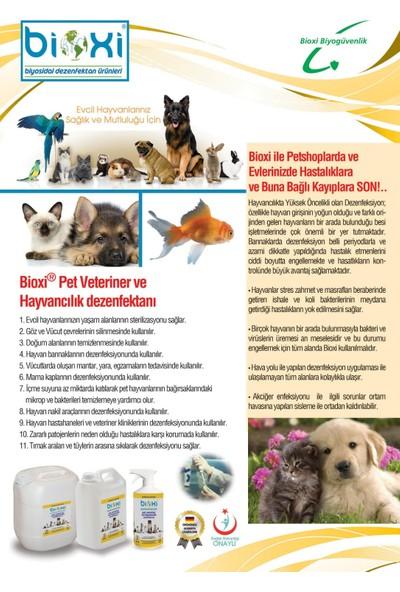 Bioxi Pet Dezenfektanı Konsantre 5 Lt.