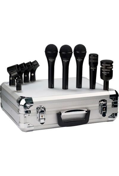 Audix BP5 PRO 5 Adet Dinamik Mikrofon Seti