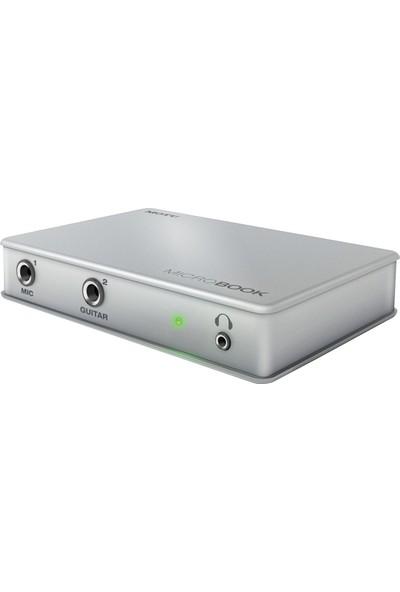Motu MicroBook Yüksek Kalite 4-giriş/2-çıkış USB Ses Kartı