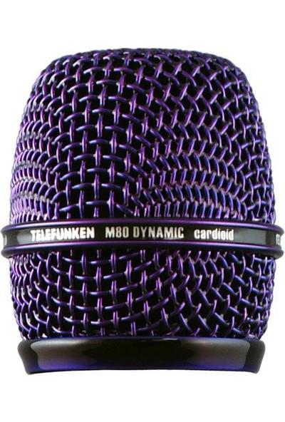 Telefunken HD03-PRPL Telefunken M80 Dinamik Mikrofon İçin Kafa Izgarası