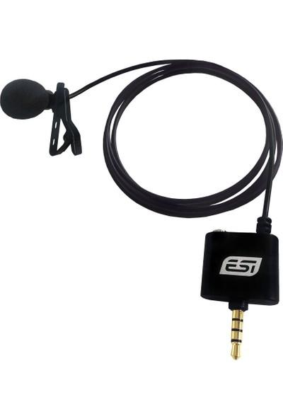 Esi Audio cosMik Lav Yaka/Lavalier Mikrofonu