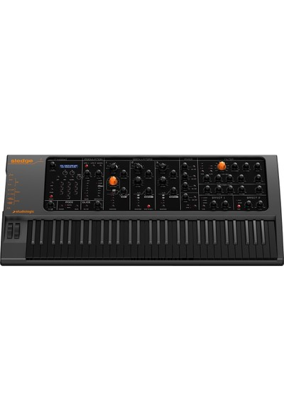 Studiologic Sledge 2.0 Black Edition 61-Tuş Virtual-Analog Synthesizer