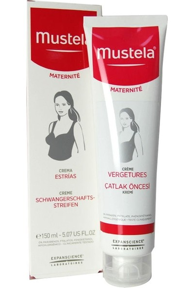 Mustela Strech Marks Prevention Cream 150 Ml / Çatlak Öncesi Kremi