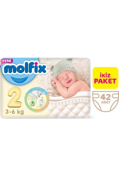 Molfix Bebek Bezi 2 Beden Mini İkiz Paket 42 Adet