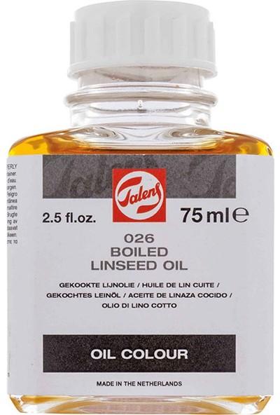 Talens Linseed Oil Boiled 026 75Ml Kaynatilmiş Keten Yaği