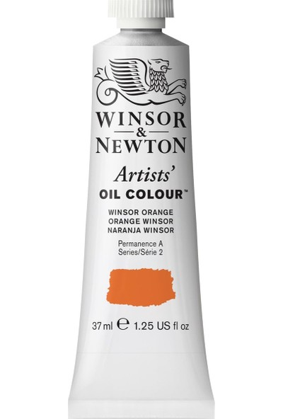 Winsor & Newton Artists Yağlı Boya 37Ml Winsor Orange 724 S.2