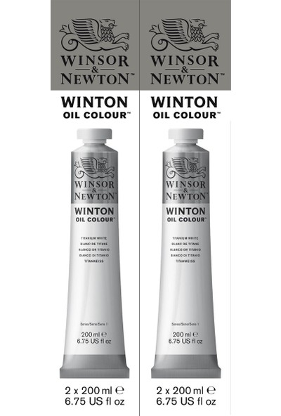 Winsor & NewtonWinton Yağlı Boya Twin Pack 2X200Ml Titanium White