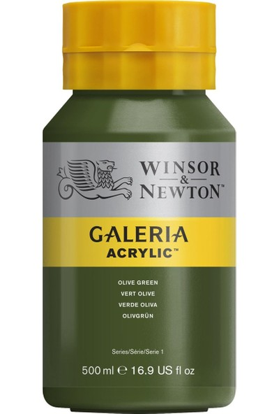 Winsor & NewtonGaleria Akrilik Boya 500Ml Olive Green 447