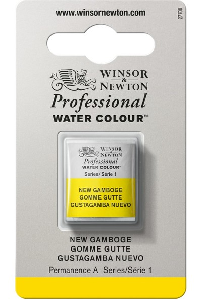 Winsor & NewtonProfessional Suluboya Yarim Tablet N.Gamboge 267 S.1