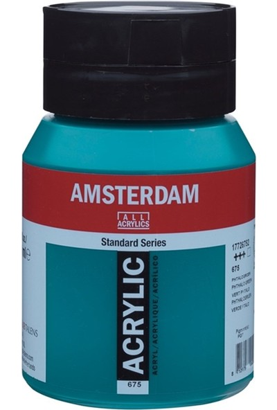 Amsterdam Akrilik Boya 500Ml. Phth.Green