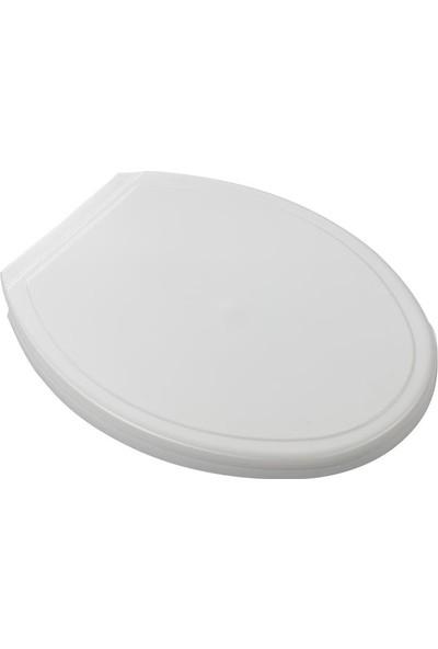 Rona Neva Thermoplastik Klozet Kapağı-Beyaz