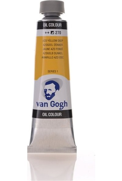 Van Gogh 40Ml Yağlı Boya Azo Yellow Deep