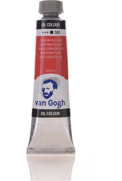 Van Gogh 40Ml Yağlı Boya Cadmium Red Light
