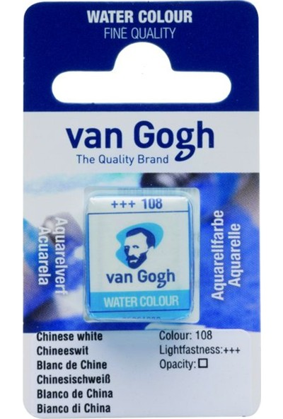 Van Gogh Suluboya Tablet Chinese White
