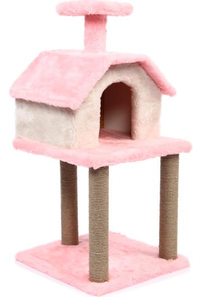 Petista Tırmalamalı Katlı Kedi Evi