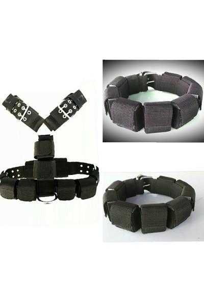 Ac Leather Güçlendirme Tasması Çekme Aparatlı Set