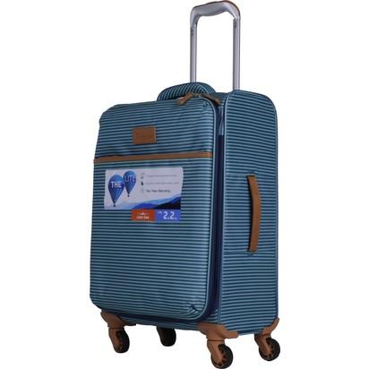 b47d260978487 It Luggage Ultra Light Kabin Boy Kumaş Valiz Çizgili Yeşil Fiyatı