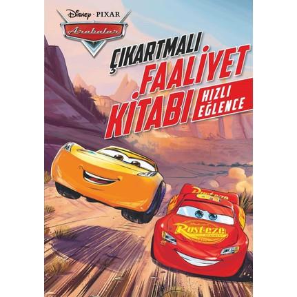 Disney Arabalar Hızlı Eğlence çıkartmalı Boyama Kitabı Fiyatı