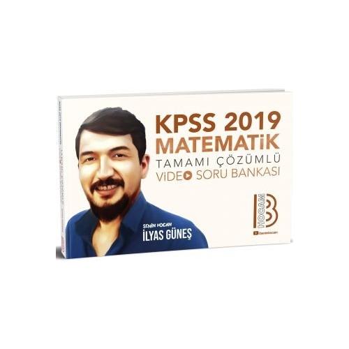Benim Hocam Yayınları 2019 KPSS Matematik Video Soru Bankası