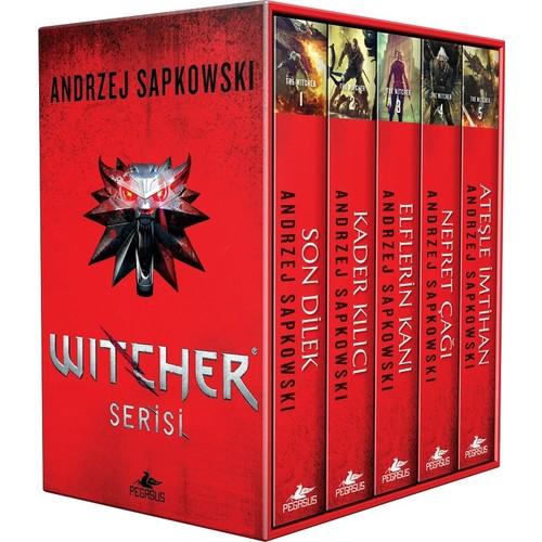 The Witcher Serisi Kutulu Özel Set (5 Kitap) - Andrzej Sapkowski