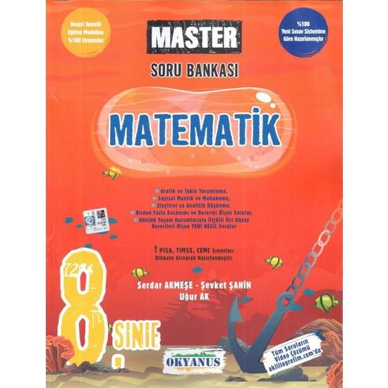 Okyanus 8. Sınıf Master Matematik Soru Bankası