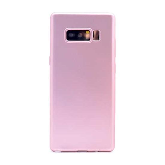 Evastore Galaxy Note 8 Kılıf Zore Premier Silikon - Rose Gold