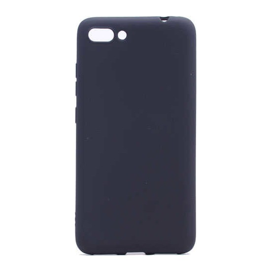Evastore Asus Zenfone 4 Max ZC554KL Kılıf Zore Premier Silikon - Siyah
