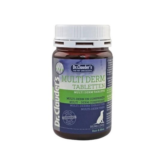 Dr.Clauders Multi Derm Tüy ve Deri Sağlığı Köpek Tableti 185 Gr
